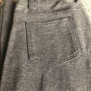 Like new gray skinny pants